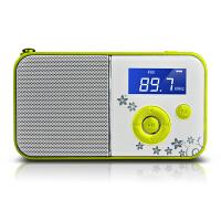 【当当自营】 熊猫/PANDA DS-111 数码音响播放器 插卡音箱 立体声收音机 绿色