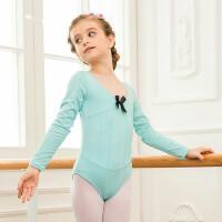 儿童舞蹈服装女童练功服芭蕾舞服少儿舞蹈体操服