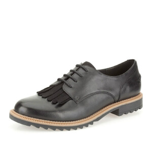 【香港现货】Clarks/其乐女鞋2017秋冬新款牛津流苏单鞋Griffin Mabel专柜正品直邮