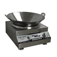 商用电磁炉双耳凹面不锈铁锅40 50 60cm煤气灶厨师专用圆底钢炒锅