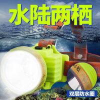 锂电远射夜钓鱼疝气矿灯户外强光头灯超亮头戴式可充电小led