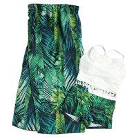 泳衣女裙式比基尼三件套小胸聚拢长裙沙滩度假情侣装情侣温泉泳装