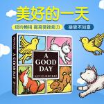 顺丰发货 英文原版 A Good Day Board Book 美好的一天 纽约时报畅销书 纸板书 幼儿启蒙 学前教育