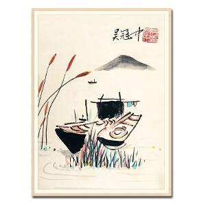 中国绘画艺术大师 吴冠中《风景》DW175