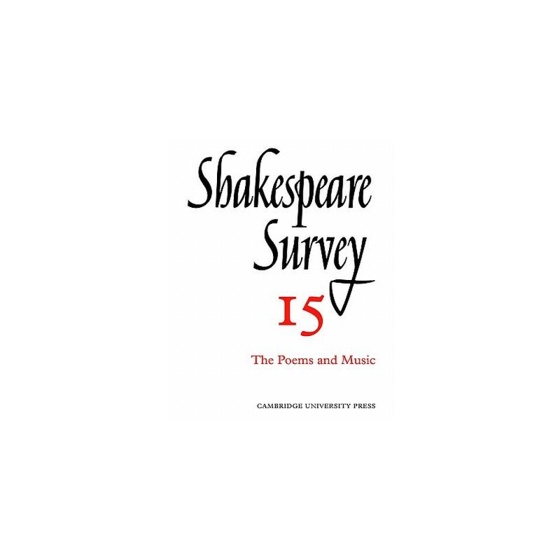 【预订】Shakespeare Survey 预订商品,需要1-3个月发货,非质量问题不接受退换货。