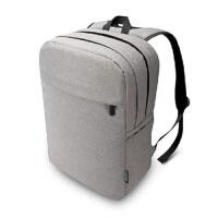 苹果电脑包macbook air pro 13 15 笔记本双肩包男女背包 灰色 凯撒系列