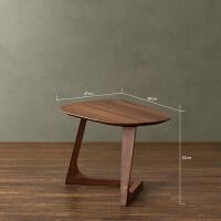 茶几边桌客厅时尚美式边几实木小茶几北欧边桌简约沙发边几样板房创意家具个性角几创意简约