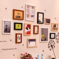 照片墙装饰创意个性相框墙简约现代客厅相片框组合连体挂墙相片墙