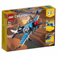 LEGO乐高积木 创意百变组Creator系列 31099 螺旋桨飞机 玩具礼物