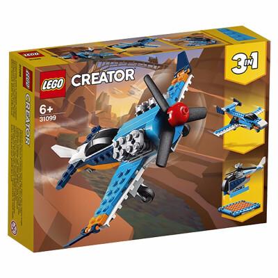 【当当自营】LEGO乐高积木创意百变系列Creator 31099 螺旋桨飞机 男孩女孩 新年生日礼物 2020年3月上新