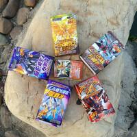 赛尔号游戏纸牌 卡片斗转进化精灵决斗闪卡解密对战卡牌玩具