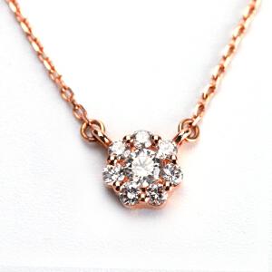 梦 梵雅 钻石项链 18K金七唯一钻石项链