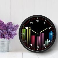 挂钟壁钟客厅个性创意时尚现代简约时钟静音家用卧室金属钟表