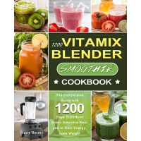 预订 1200 Vitamix Blender Smoothie Cookbook 9781803207650