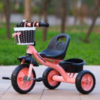 儿童三轮车脚踏车小孩宝宝手推车1-3-2-6周岁幼童轻便单车自行车