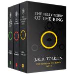 正版现货 指环王英文原版 The Lord of the Rings 魔戒三部曲 全英文版小说全套书籍 国外经典电影原
