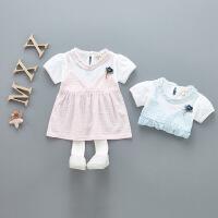 女童洋气连衣裙装女宝宝公主裙子夏季婴儿夏装婴幼儿0女孩1-3岁潮