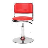20190704062516813时尚升降工作小圆凳收银凳柜台酒吧椅吧台椅接待凳转椅子会客凳子