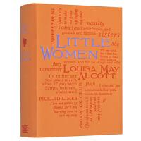 小妇人 英文原版 Little Women 半自传体小说 英文版世界经典英语名著 JK罗琳推荐 少女成长史家庭小说 青