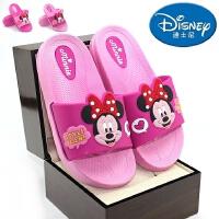 包邮2017新款迪士尼夏季儿童鞋女童防滑中童凉拖鞋婴儿学步鞋宝宝凉鞋