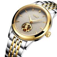 正品机械手表全自动超薄男士手表防水时尚男新款手表