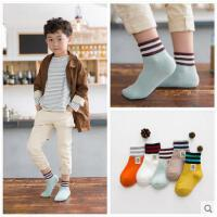 儿童袜子秋冬款婴儿纯棉袜男童女童中筒加厚宝宝袜3-5-7-9中大童