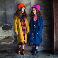 韩版秋冬新款女童长款毛线衣中大儿童宽松百搭保暖开衫亲子装外套
