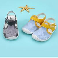 学步鞋男女宝宝鞋子婴儿凉鞋夏男软底婴儿春秋叫叫鞋0-1-2岁