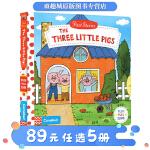 The Three Little Pigs 三只小猪 英文原版绘本0 3岁 First Stories Busy 系列