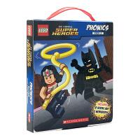 Lego DC Super Heroes Phonics Set 乐高拼音设置DC的超级英雄