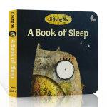 顺丰发货 进口英文原版 韩国插画名家伊尔宋娜代表作 A Book of Sleep 睡眠之书 纸板书 温馨睡前故事 少