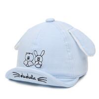 户外儿童鸭舌遮阳帽小童帽子小孩翘舌帽男女童新生儿宝宝帽