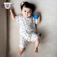 童婴儿童连体衣服季宝宝装新生儿3个月薄款1岁潮新年