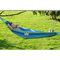 户外休闲吊床 加宽加厚帆布双人吊床 室内公园野营成人吊床