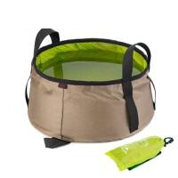 户外旅行便携式水桶 超轻折叠水盆洗脸盆 旅游洗脚盆可装热水 沙滩沙盆