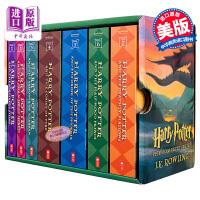 【中商原版】英文原版 哈利波特1-7全集套装 The Complete Harry Potter Collection