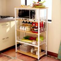 厨房置物架 落地式多层收纳架微波炉架子省空间家用调料架子