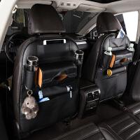 汽车用品座椅背收纳袋创意多功能储物车载饰品可折叠餐桌靠背挂袋