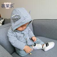 蓓莱乐婴儿衣服装0岁3个月宝宝季套装童春新款新生儿两件套新年