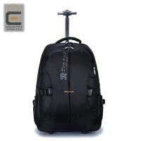 双肩拉杆包大容量旅行背包袋商务登机男女防泼水旅游手提行李箱包