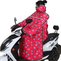 电动车挡风被冬季加大加厚加绒电瓶车摩托车三轮车防风罩防雨新品