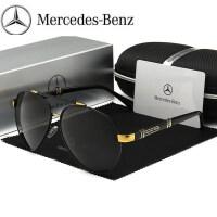 奔驰同款新款偏光镜男士太阳镜防紫外线时尚开车眼镜驾驶墨镜潮流