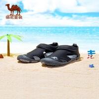 小骆驼童鞋男童凉鞋2019新款春夏儿童纯色户外机能凉鞋运动沙滩鞋