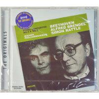 正版 贝多芬第4、5 钢琴协奏曲CD PIANO CONCERTOS 4&5布伦德尔