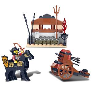 【当当自营】小鲁班三国系列儿童益智拼装积木玩具 南征先锋M38-B0271