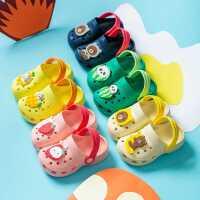 洞洞鞋儿童宝宝幼儿男童小童室内家居防滑软底夏1-3岁2女童凉拖鞋