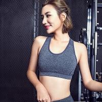 防震运动内衣背心女 健身房跑步服显瘦透气瑜伽服运动文胸