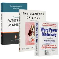 word power made easy 单词的力量 英文原版 风格的要素英文版 英语写作手册 英语词汇写作学习书 进口