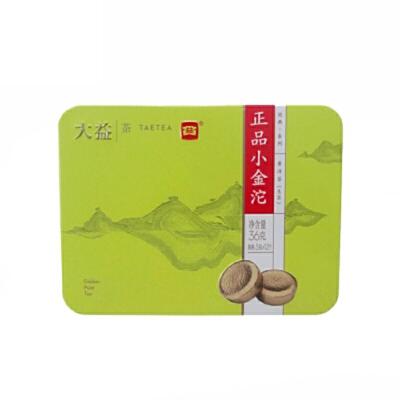 大益普洱茶叶 生茶 正品小金沱迷你沱茶 快捷冲泡茶36g 浓缩中的经典 滋味更酽 12沱/盒