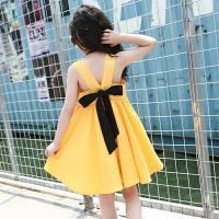 7女大童夏装连衣裙8儿童10韩版露背洋气公主裙子12小学生女孩15岁